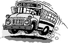 7- Advérbios de lugar Bus
