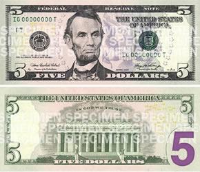 Dinheiro 5_dollar_bill