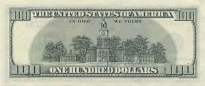 Dinheiro Back_hundred_bill
